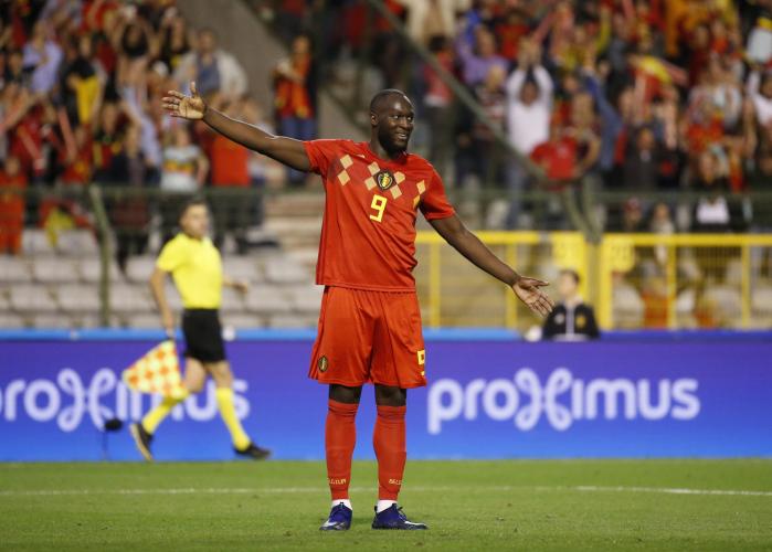 Lukaku é a estrela da seleção belga