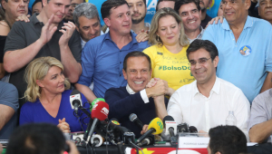 João Doria cita Bolsonaro e promete governar para 'todos os brasileiros de São Paulo'