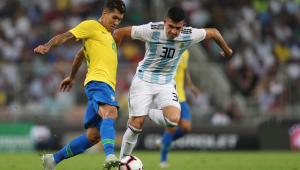 Treinador da Argentina elogia Brasil apesar de sequência ruim: 'Ainda é perigoso'