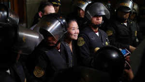 Justiça do Peru decreta nova prisão preventiva de Keiko Fujimori
