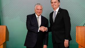 Temer se diz honrado com convite de Bolsonaro para chefiar missão humanitária no Líbano