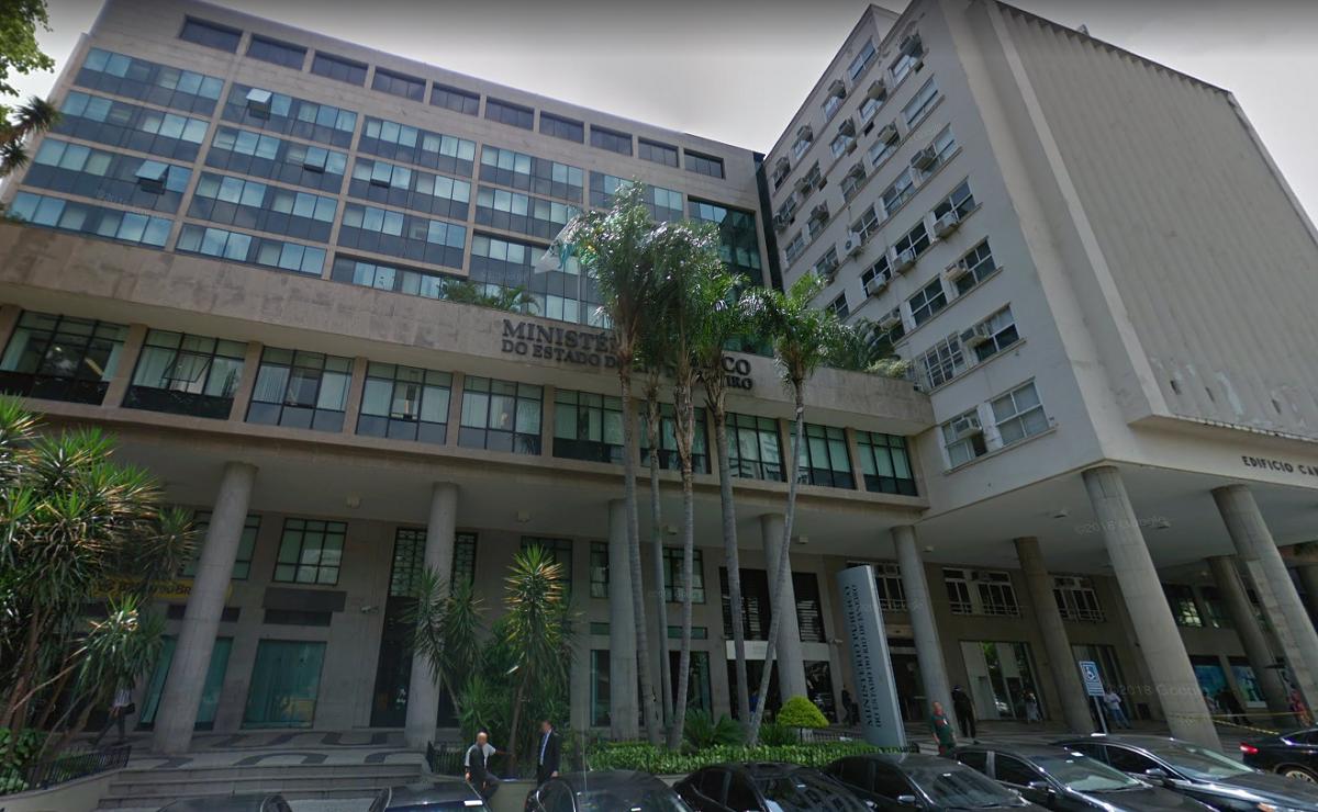 Fachada do Ministério Público do Rio de Janeiro