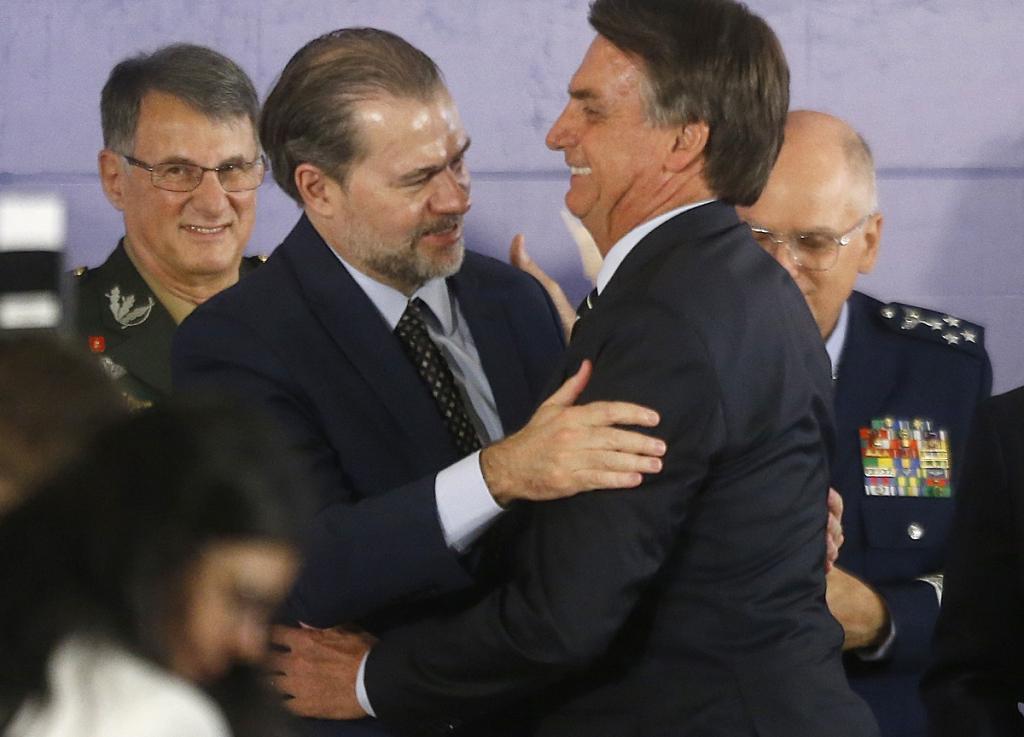 Toffoli: 'Bolsonaro mantém diálogo muito aberto com STF e comigo ...