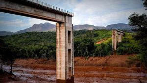 Barragem da Vale se rompeu em Brumadinho, em Minas Gerais, nesta sexta-feira (25)