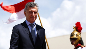 Poucos dias antes de deixar a presidência, Macri convoca manifestação a seu favor