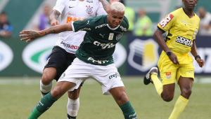 Árbitro do dérbi Palmeiras x Corinthians só apitou 6 partidas no Brasileirão