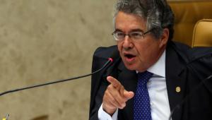 Marco Aurélio envia ao plenário virtual decisão sobre depoimento de Bolsonaro