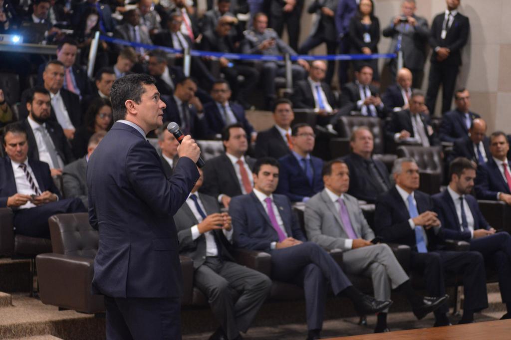 Em Brasília, Moro apresenta Projeto de Lei Anticrime a governadores