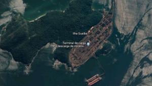 Terminal da Ilha Guaíba (TIG), da Vale, em Mangaratiba, na Costa Verde do Rio de Janeiro