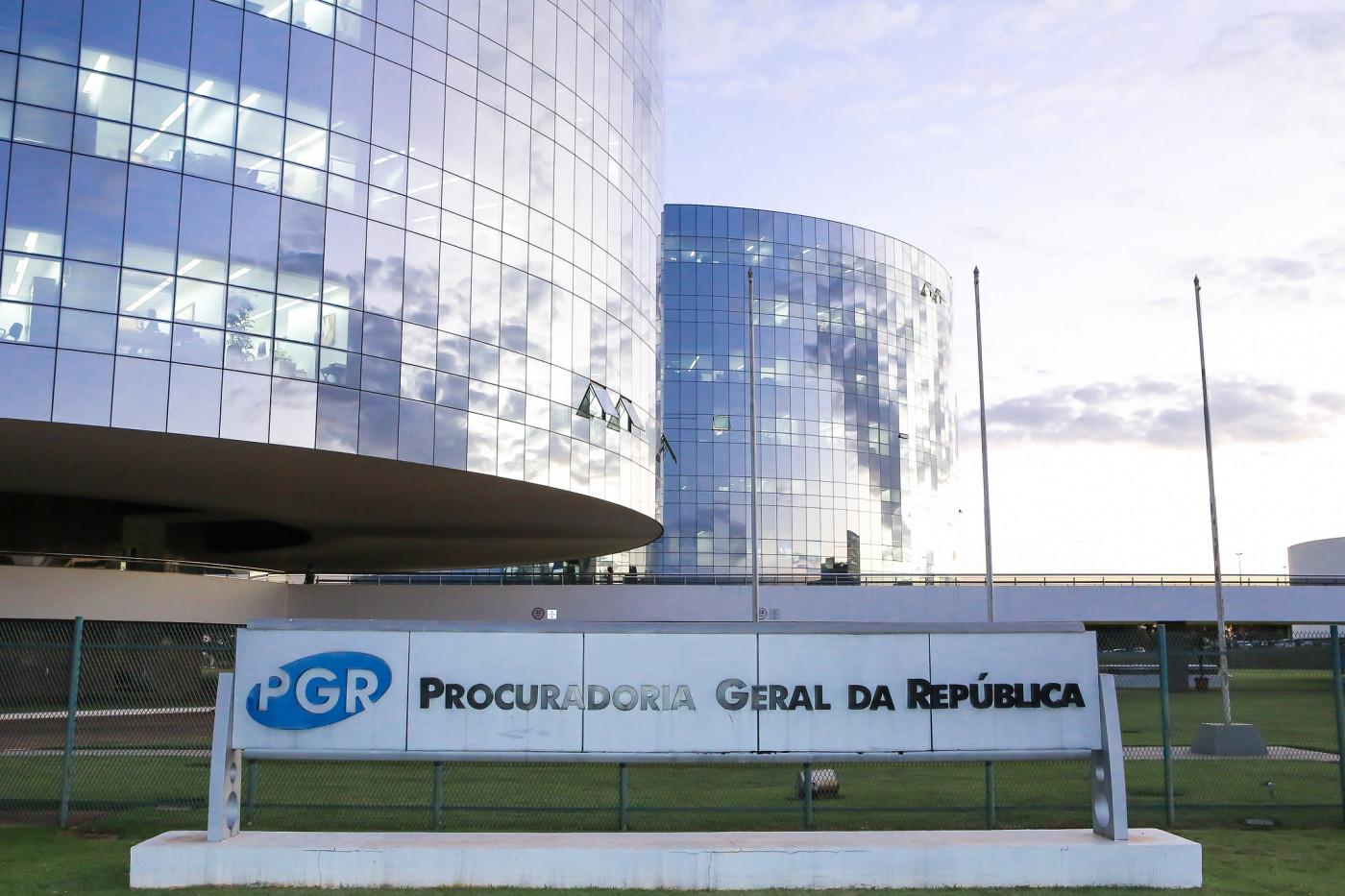 Prédio da sede da PGR em Brasília