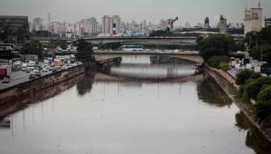 Rio Pinheiros é pulverizado com larvicida para conter proliferação de mosquitos