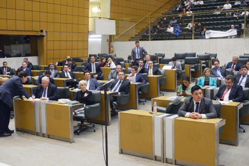 Assembleia de SP é fechada para o público por ordem do presidente Cauê Macris