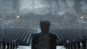 Emilia Clarke diz que último discurso de Daenerys em 'Game of Thrones' foi um 'inferno'