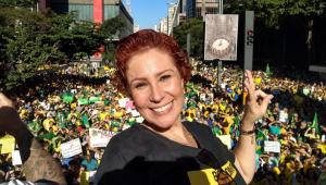 Carla Zambelli nega que soube antes de operação da PF contra Witzel: 'Feliz coincidência'