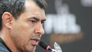 Fábio Carille esclarece rusga com Vital e diz ainda ser 'imaturo' como técnico
