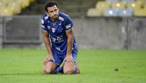 Fred é liberado dos treinos do Cruzeiro até segunda-feira