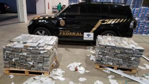 Polícia Federal apreende 1 tonelada de cocaína no Porto de Natal, no Rio Grande do Norte