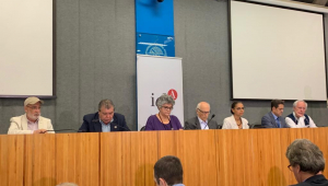 Sete ex-ministros do Meio Ambiente se reuniram nesta quarta-feira (7), na Universidade de São Paulo (USP), na capital paulista
