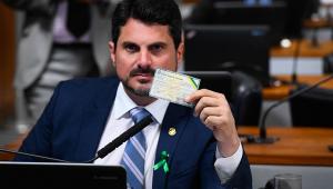 O senador Marcos do Val