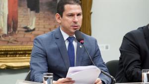 Deputado preside sessão em comissão da Câmara