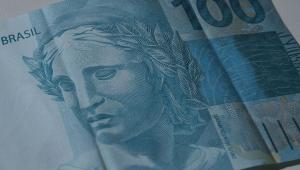 Imagem de uma nota de 100 reais