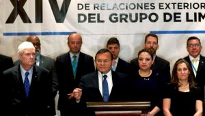 O Grupo de Lima se reuniu nesta quinta-feira (6) na Guatemala para discutir a crise venezuelana