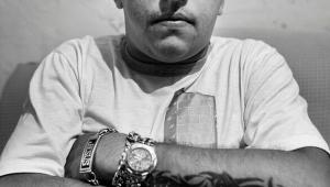 Fernando Gomes de Freitas, conhecido como Fernandinho Guarabu, apontado como líder da quadrilha que controla a venda de drogas da comunidade do Dendê