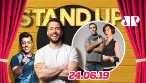 Diogo Portugal e Maria Paula | Stand Up Jovem Pan