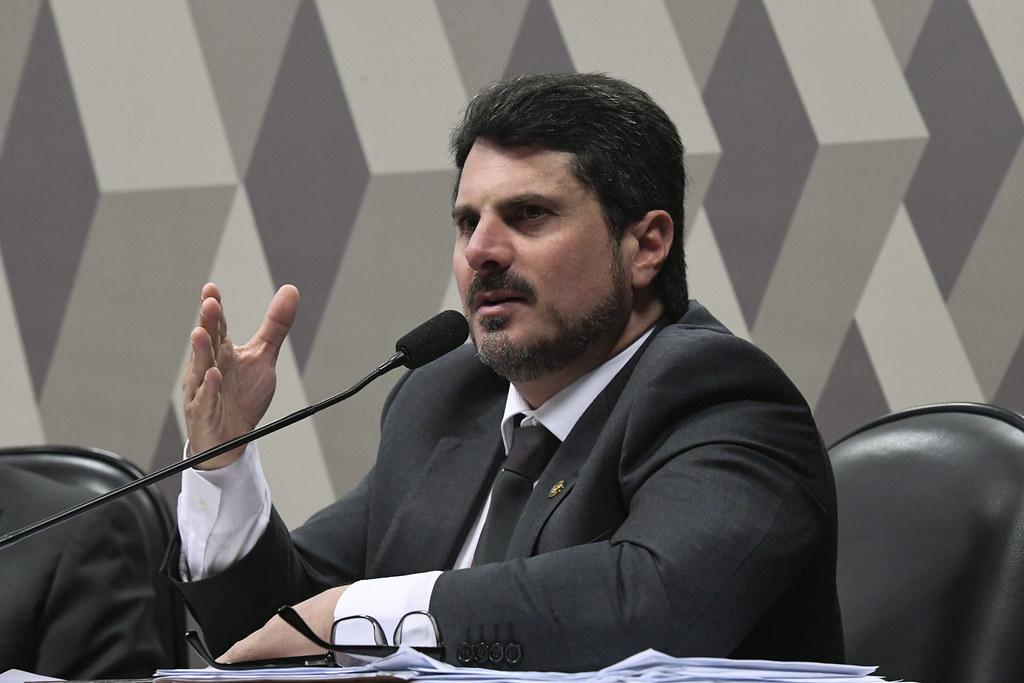 Em pronunciamento, senador Marcos do Val