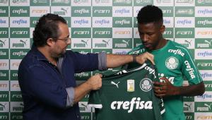 Palmeiras anuncia rescisão de contrato com meio-campista Ramires