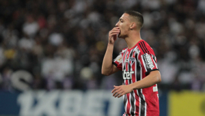 Antony sofre lesão no tornozelo e pode desfalcar o SPFC na estreia da Libertadores