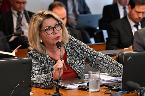Aprovação só sai se houver cobrança da população, diz senadora
