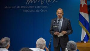 """Em Cuba, chanceler russo diz apoiar Havana """"em tudo"""" contra os EUA"""