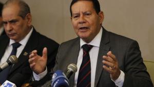 Mourão admite atraso em combate ao desmatamento na Amazônia