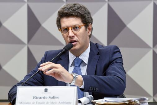 Ricardo Salles: Não temos que ir lá fora dizer que o Brasil é um vilão ambiental