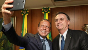 Doria: Me arrependo de ter dado voto a Bolsonaro