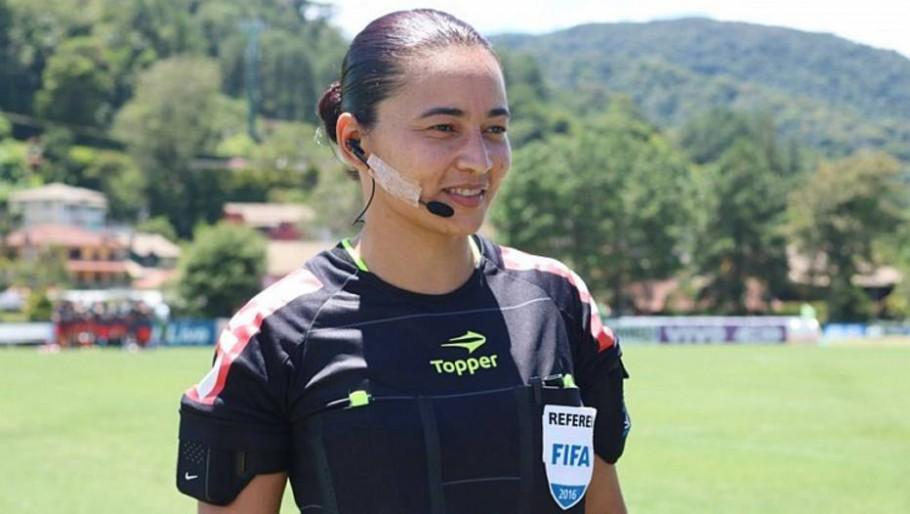 Edina Alves Batista apitará Corinthians x Palmeiras