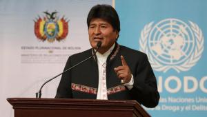 Evo Morales presidente da Bolívia