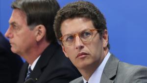 Salles defende frase sobre 'boiada' em reunião: 'Não falei em afrouxamento'