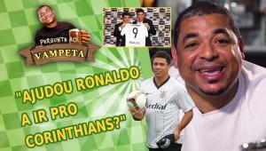 'Ajudou Ronaldo a ir para o Corinthians?' Vampeta sacia curiosidade de internautas