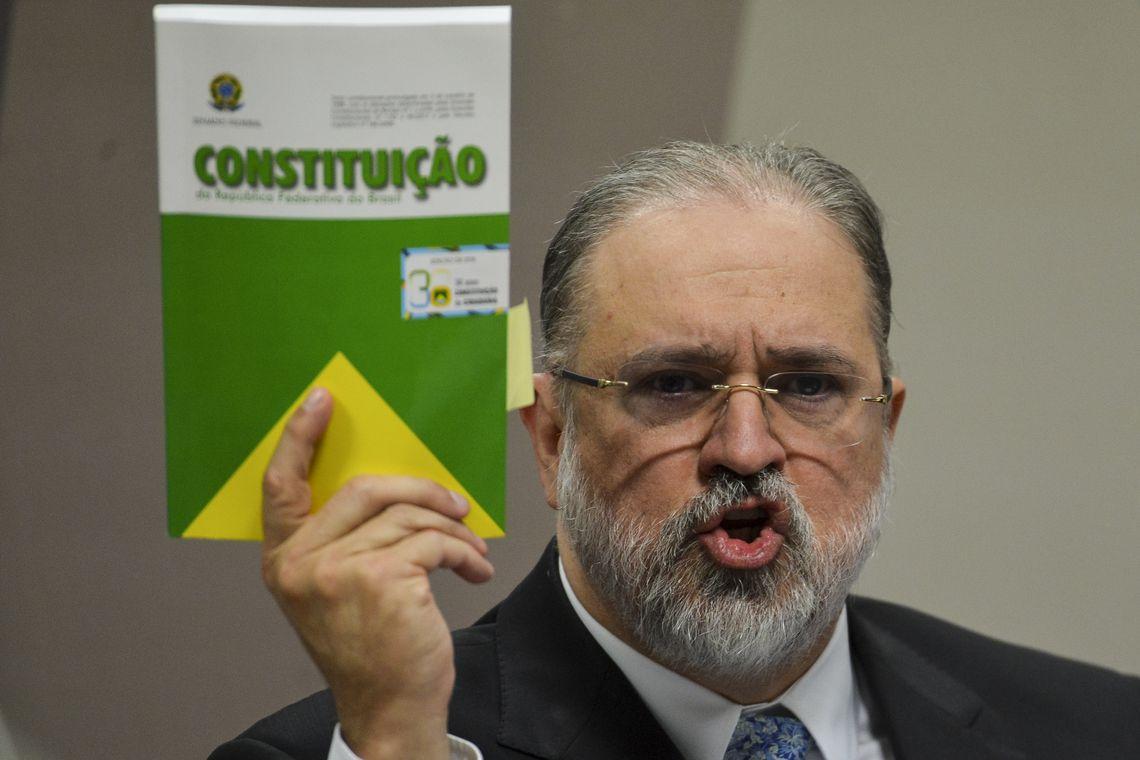 O procurador-geral da República, Augusto Aras
