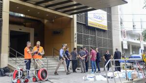Hospital Badim pegou fogo Rio de Janeiro