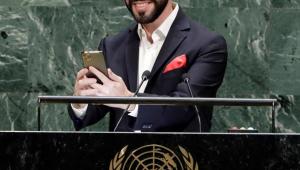 Nayib Bukele ONU selfie