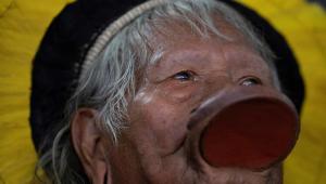 Raoni indígena índio