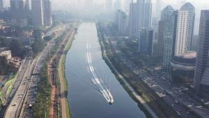 Revitalização do Rio Pinheiros contará com novo parque em SP; secretário explica projeto