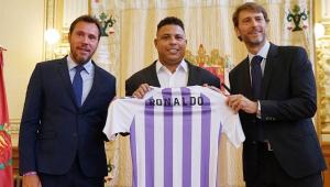 Dono do Valladolid, Ronaldo diz: 'O que não sofri como jogador, estou sofrendo como dirigente'