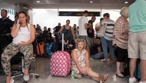 aeroporto transtorno Thomas Cook