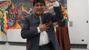 Morales se diz favorável à mediação da Espanha e UE em conflitos na Bolívia