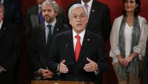 Popularidade de Piñera despenca após protestos