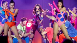 Anitta não nega playback em show no Rock in Rio